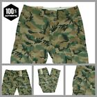 Levis Ace Cargo Pants Green Camouflage Relaxed Fit  100% Cotton MANY SIZES! NEW