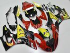 25 Red Black Yellow Shark ABS Injection Fairing Kit for BMW S1000RR 2009-2014