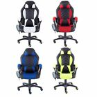 Executive Massage PU Leather Lumbar Support Sport Racing Car Gaming Office Chair