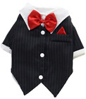 Pet S & Big Dog Cat Tuexdo Wedding Suit Fancy Dress Costume Outfit Clothes S-9XL