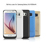 4200mAh External Battery Charger Case Power Bank Cover for Samsung Galaxy S6 New