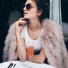 Women Real 100% Real Ostrich Feather Fur long sleeve Coat Jacket Desirous Adult