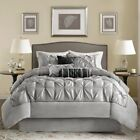 Madison Park Laurel 7 Piece Comforter Set  in 10 Colors and 4 Sizes