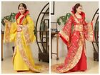Chinese Traditional Ancient Costume Empress Dramaturgic Theatrical Play Dress