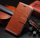 For Apple iPhone Luxury Magnetic Flip Cover Stand Wallet Leather Case