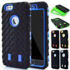 Ultra SHOCKPROOF Rugged Rubber Silicone Phone Case for iPhone 6s Plus 7 8 Plus
