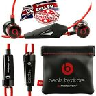 Genuine Monster Beats by Dr Dre iBeats In Ear Headphones Earphone Earbuds Black