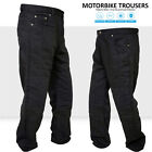 Motorbike Motorcycle Trousers Jeans Reinforced With Aramid Protection Lining PLB