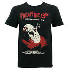 Authentic FRIDAY THE 13TH The Final Chapter Slim-Fit T-Shirt S M L XL XXL NEW