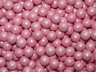 BABY PINK PEARL CHOCO BALLS EDIBLE WEDDING SPRINKLES 10MM CUPCAKE CAKE TOPPERS