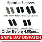 Spindle Sleeve Shims Converts 5mm or 7mm to 8mm Sleeves Metal Plastic Finish
