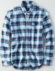 NWT AMERICAN EAGLE Men's Plaid Oxford Button Down Shirt Small Medium Large XL 2X