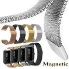 Magnetic Milanese Loop Stainless Steel Mesh Band For Xiaomi Huami Amazfit Youth
