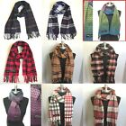 Kyпить Men Women Winter Warm 100% CASHMERE Scarf Solid Plaid Wool SCOTLAND High quality на еВаy.соm