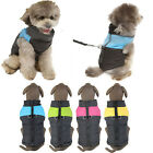 Hot Warm Cozy Comfortable Waterproof Pet Dog Coat Vest Jacket Size Small Medium