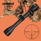 Ohhunt 3-9x40 Scope Tactical Optics W/ Mount Rings Picatinny or Dovetail