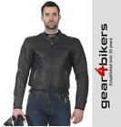 RST IOM Classic TT Leather Motorcycle Jacket Retro Ilse Of Man Sports Sport