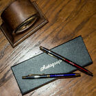Personalised Laser Engraved Metal Pens Boxed 3 Colours Available Free Shipping