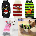 Pet Puppy Dog Cat Warm Sweater Knit Clothes Coat Apparel Costumes Outwear XXS-XL