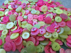 BAG OF BUTTONS -FANTASTIC ASSORTED COLOURS, SHAPES, SIZES  75 grams