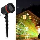 Red/Green Laser Fairy Light Projection Projector Christmas Outdoor Landscape