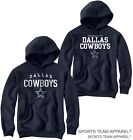 DALLAS COWBOYS JERSEY NAVY BLUE HOODIE SWEATSHIRT