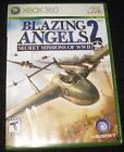 Blazing Angels 2: Secret Missions of WWII - Xbox 360 Game Complete & Tested