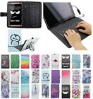 For 2016 Acer Iconia One 8 B1-850 B1 USB Andriod Tablet Keyboard Case Cover Flip