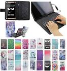 For Asus Zenpad Z380 Z380C Z380KL USB Andriod Tablet Keyboard Case Cover Flip