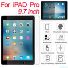 For iPad Pro 9.7 10.5 12.9 Mini2 3 4 Air 9H HD Tempered Glass Protector lot QW