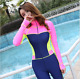 New Women Lady Long Sleeve Diving Suit Surf Scuba snorkeling free dive Wetsuits