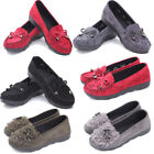 Moccasins Shoes Women Suede Slip On Flat Loafers Ladies Casual Ballerina Ballet