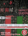"""Recollections CHRISTMAS cardstock paper 8.5""""x11""""~Nice! Useful!!  Quick Ship!"""
