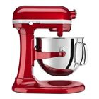 10 Speed Stand Mixer KitchenAid Pro Line 7 Quart Stainless Steel Bowl 1.3hp Red