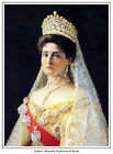 EMPRESS ALEXANDRA OF RUSSIA PRINT.ALIX OF HESSE.ROMANOV. AVAILABLE ON CANVAS,TOO