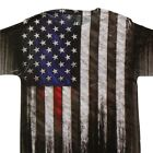 American Flag Design Sublimated T Shirt #D1416