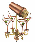 Good Directions Cottage Martini with glasses Weathervane