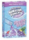 6 BOXES OF HAWAIIAN PUNCH SINGLES TO GO WATER FLAVOR ENHANCER DRINK MIX