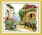 "Joy Sunday Little Float Counted Cross Stitch Kit 18"" x 15"" 14 Count Fabric"