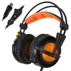 SADES A6 7.1 Surround Sound Stereo Over-ear PC USB Gaming Headset Headphone