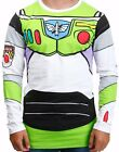Disney Men's New Toy Story I Am Buzz Lightyear Costume License T-shirt