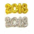 2018 New Year Number Foil Balloon Gold / Silver birthday Party Home Decoration