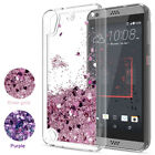 For HTC Cell Phone Cute Glitter Liquid Quicksand Clear TPU Protective Case Cover