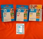 HP 11 Ink Cartridge C4836AE C4837AE C4838AE Busines -Color Print-Officejet Pro
