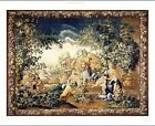 "DECORATIVE CANVAS/PAPER ""Jan Frans Den Hecke Tapestry"" various SIZES, BRAND NEW"