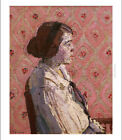 """HAROLD GILMAN """"Portrait in Profile: Mary L"""" new CANVAS! various SIZES, BRAND NEW"""