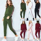 Women 2Pcs Tracksuit Hoodies Sweatshirt & Pants Sets Sport Wear Casual Suits New