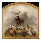 "SIR EDWIN HENRY LANDSEER ""Highland Deer"" CANVAS or PAPER ! various SIZES"