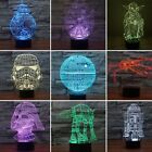 Star Wars 3D Table Lamp 7 Color Changeable LED Night Lights for Kids Toy Gift $15.85 USD