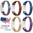 Stainless Steel Replacement Spare Metal Band Strap for Fitbit Alta / Alta HR